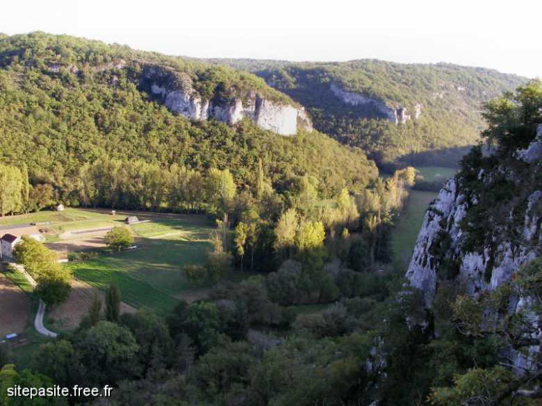 La vallée du Vers (Lot)