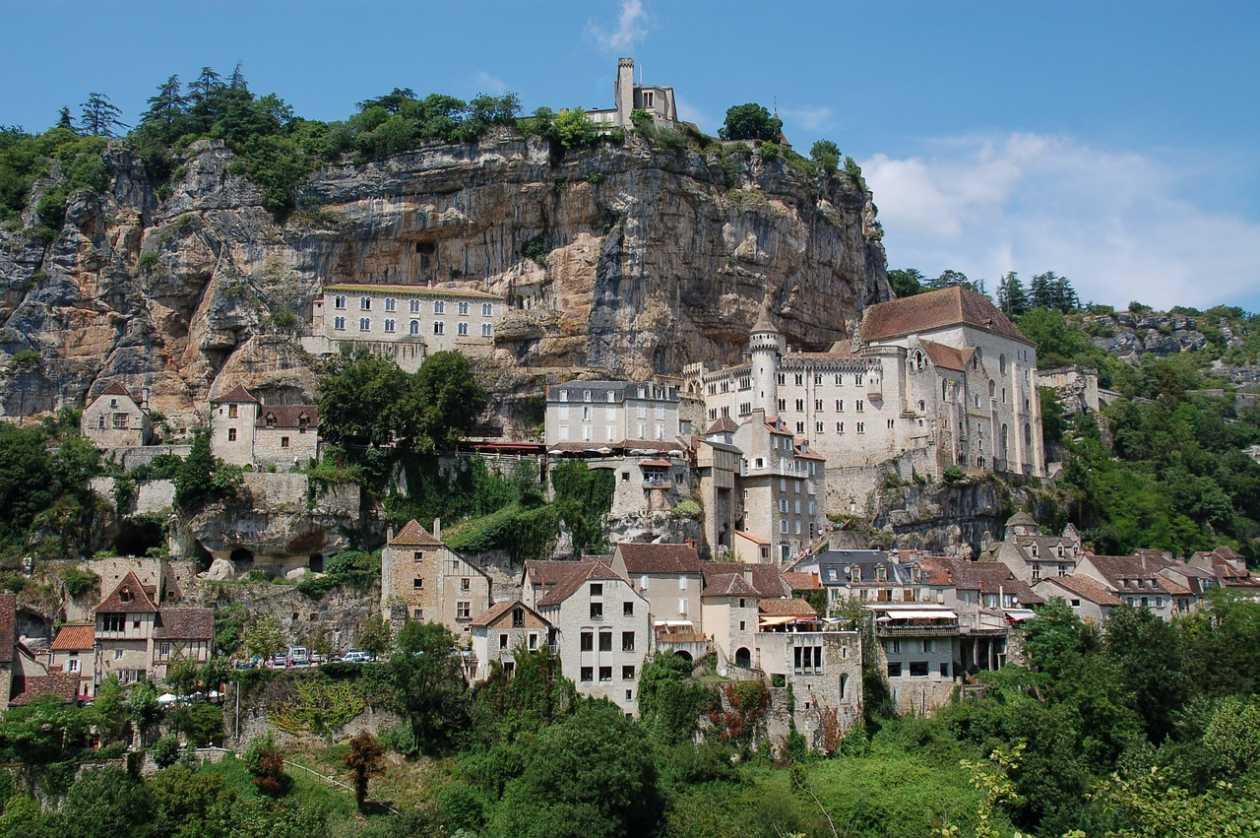 Paysage Rocamadour