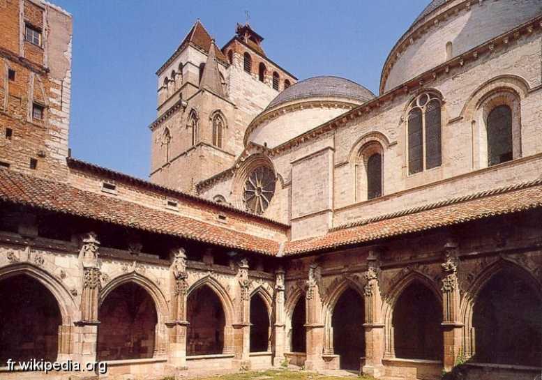 Cathédrale Saint-Etienne (Cahors) et son cloître