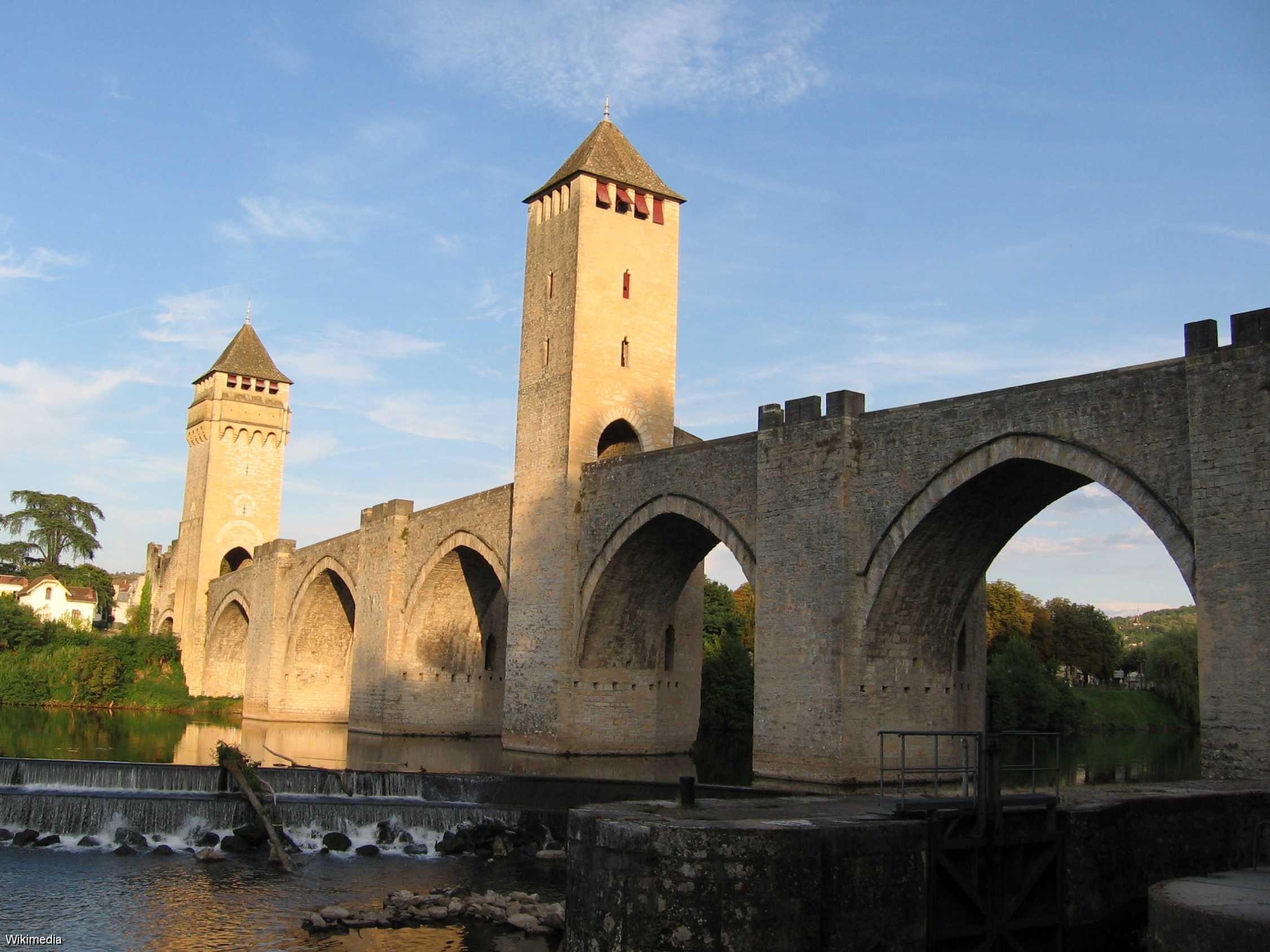 Pont Valentré à Cahors (Lot)