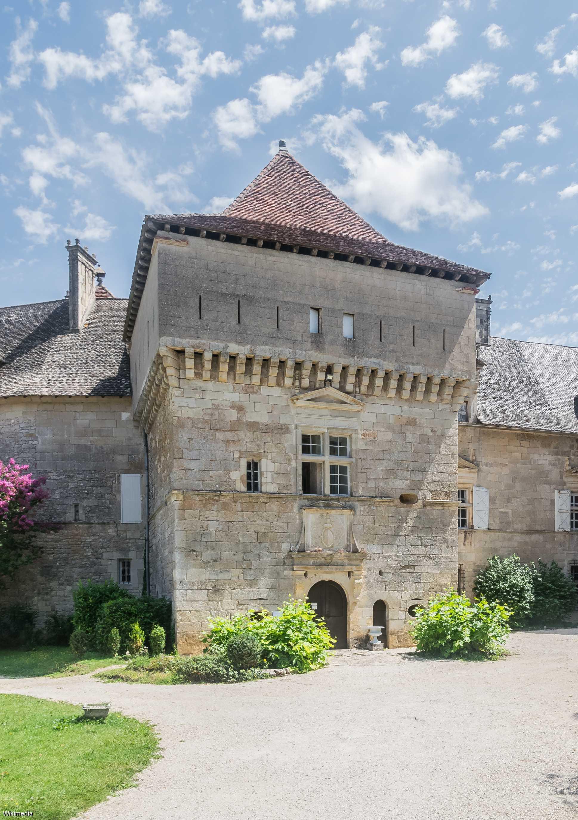 Le château de Cénevières (Lot)