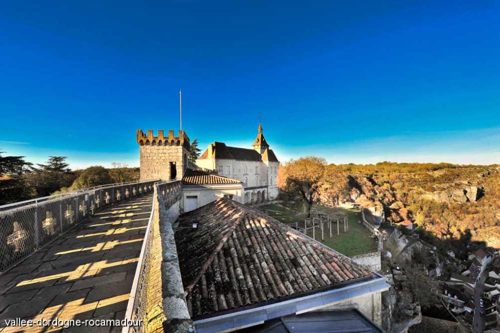 Remparts du Château de Rocamadour