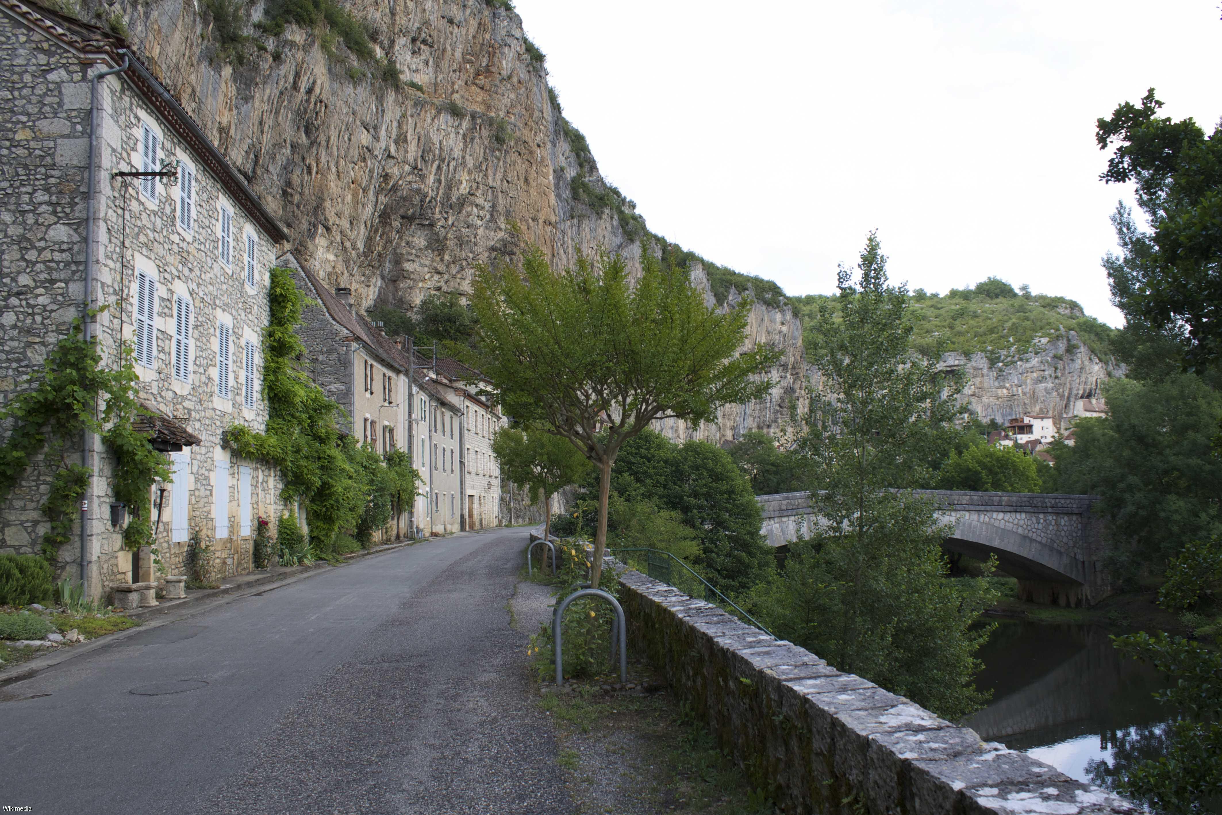 Visiter Cabrerets - Lot