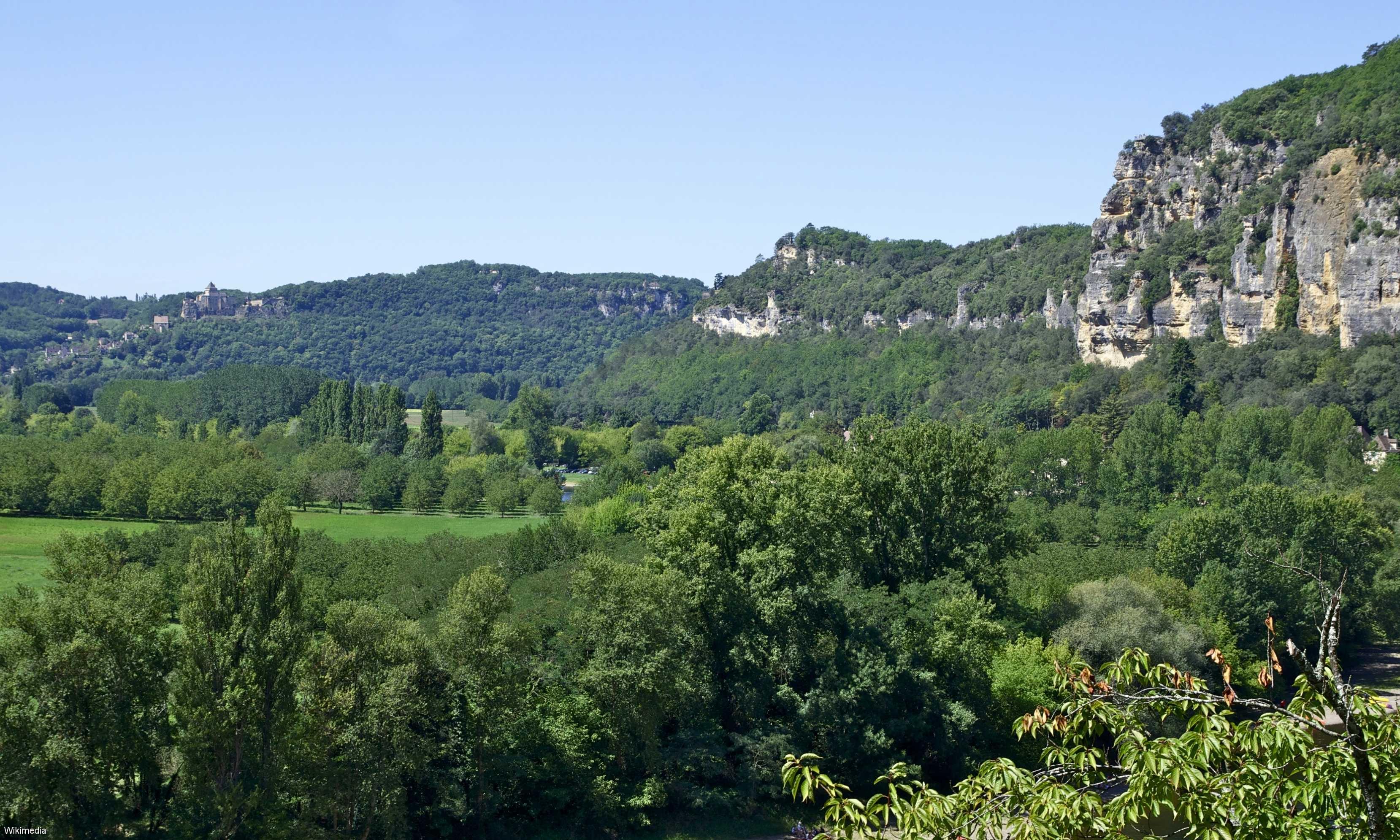 La vallée de la Dordogne - Lot