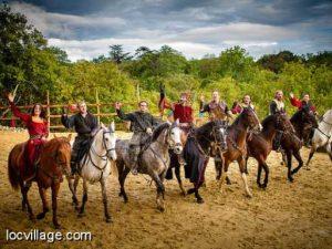 Parc Durandal Rocamadour : Histoire et acrobaties équestres